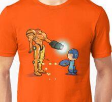 Samus Vs Mega Unisex T-Shirt