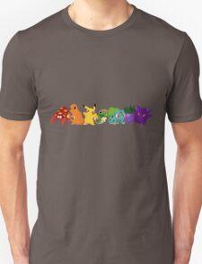 Pokemon Rainbow T-Shirt