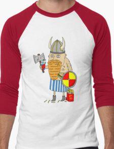 Fast Food Viking Men's Baseball ¾ T-Shirt