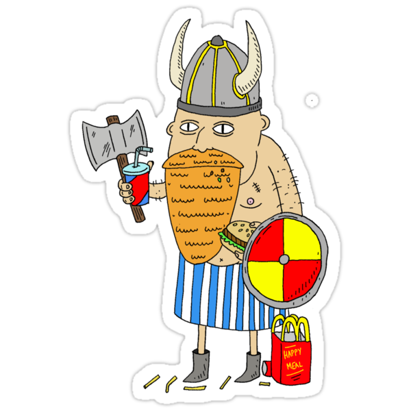 Fast Food Viking by Nathan Dirienzo
