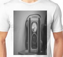 Black White Old Camera Unisex T-Shirt