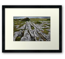 The Burren County Clare Ireland Framed Print