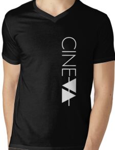 CINEVA zip hoodie Mens V-Neck T-Shirt