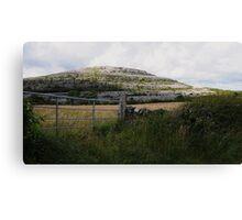 The Burren in West Clare Ireland Canvas Print