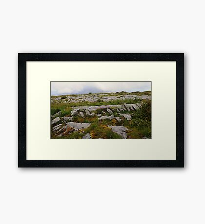The Burren in West Clare Ireland Framed Print