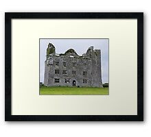 Leamaneh Castle - County Clare Ireland Framed Print