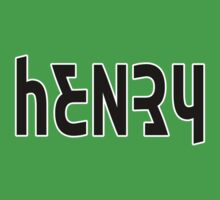 Henry ambigram by black-ink
