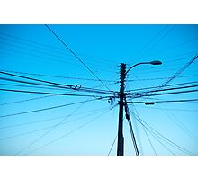 Wired Light Photographic Print