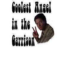 Coolest Angel in the Garrison Photographic Print