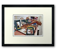 Dieting will improve your health Framed Print