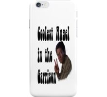 Coolest Angel in the Garrison iPhone Case/Skin