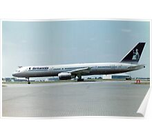 Boeing 757 Poster