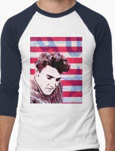 Vintage Elvis portrait nº 1 Men's Baseball ¾ T-Shirt
