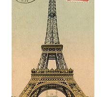 Classic Paris Relief Eiffel Tower iPhone case by CabeBereumLada
