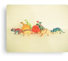 Walking With Dinosaurs Metal Print
