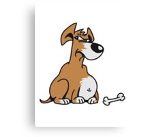 Thicker Dog Canvas Print