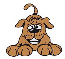 playful dog by Motiv-Lady
