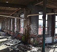 Remnants Of The Old Industrialized North East by Schoolhouse62