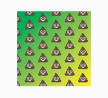Poop Emoji Pattern Green and Yellow Classic T-Shirt