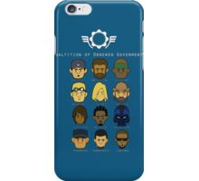 gears of war characters  iPhone Case/Skin