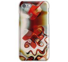Red Gnarls iPhone Case/Skin