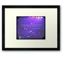 MAROON MUSIC - She Will Be Loved Framed Print