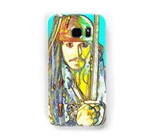 Johnny Depp in Pirates of the Caribbean Samsung Galaxy Case/Skin