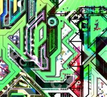 Digital Art Sticker