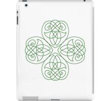 Irish Shamrock - line Art for St-Patrick's Day iPad Case/Skin