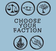 Divergent - Choose Your Faction (Black) by Lunil