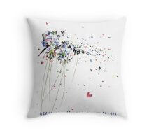 aa milne quote weeds are flowers to... Throw Pillow
