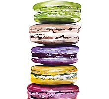 Stack of macarons by bridgetdav