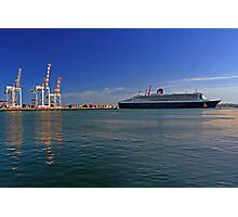 Queen Mary 2 - Fremantle Western Australia  Photographic Print