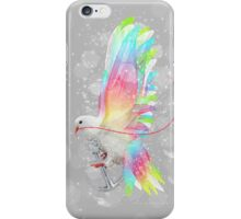 Faith Makes Things Possible (Neon Wings Series II) iPhone Case/Skin