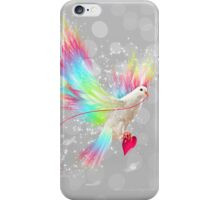 I Carry Your Heart With Me (Neon Wings Series I) iPhone Case/Skin