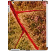 red leaf iPad Case/Skin