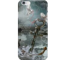 Red String of Fate / Red Thread of Destiny / Soulmate (with quote) iPhone Case/Skin