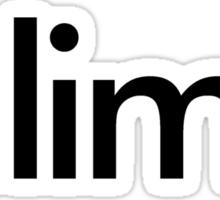 iclimb Sticker