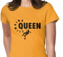 Climbing Queen Womens Fitted T-Shirt