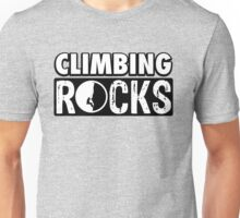 Climbing Rocks Unisex T-Shirt