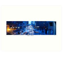 Rush Hour in Calgary Art Print