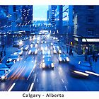 Rush Hour in Calgary by Beau Williams
