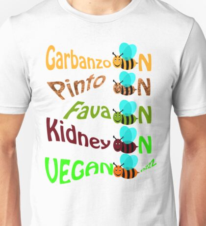 Vegan bee nzz Unisex T-Shirt