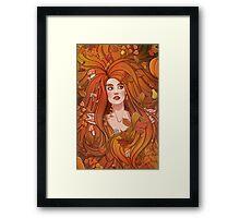 Automne Framed Print