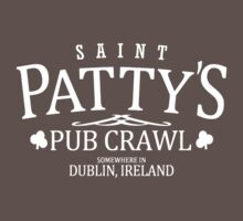 St Patty's Pub Crawl One Piece - Short Sleeve