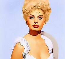 Sophia Loren in Heller in Pink Tights by Art Cinema Gallery