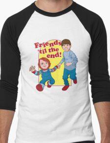 Friends Til the End Men's Baseball ¾ T-Shirt