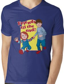 Friends Til the End Mens V-Neck T-Shirt