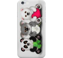 "New ""Care"" Bears Trio- Luck / Wish / Love iPhone Case/Skin"