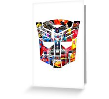 TRANSFORMERS FIGURES!!! Generation 1 Autobot Logo  Greeting Card